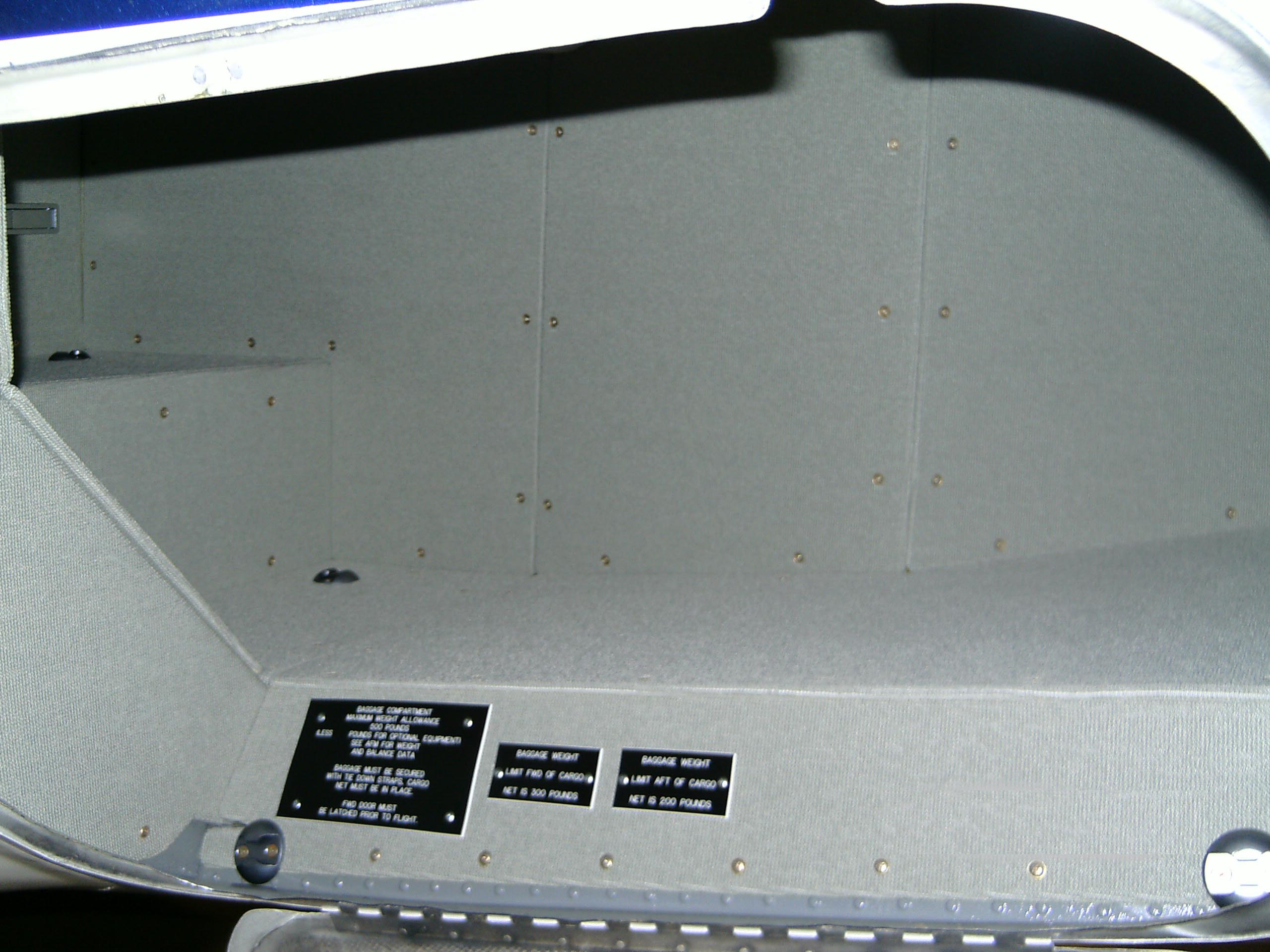 Citation II Aft Baggage Kit with Fwd Step-Mod.